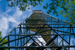 Fire tower, mille lacs kathio state park Royalty Free Stock Photography