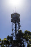 Fire Tower, Mount Lofty Summit, Adelaide Hills, SA Royalty Free Stock Image