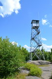 Fire Tower and sky Stock Photo