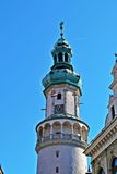 Fire Tower in Sopron. Hungary Stock Image