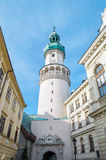 Fire tower in Sopron, Hungary. Fire tower in the centre of Sopron, Hungary Stock Photography