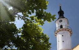 Fire Tower in Veszprem Stock Photos