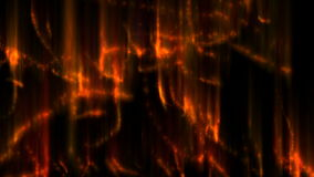 Fire trails stock footage