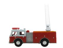Fire Truck. Firetruck isolated on a white background Stock Photography
