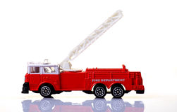 Fire truck. Beautiful shot of fire department truck Royalty Free Stock Image