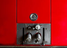 Fire truck car firefighter rescue Stock Images
