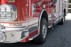 Fire truck close-up Stock Image