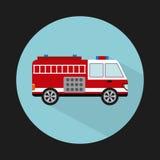 Fire truck design. Fire truck graphic design , vector illustration Stock Photos