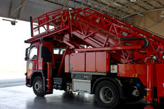 Fire truck emergency protection Royalty Free Stock Images