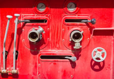 Fire Truck equipment Stock Images