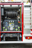 A fire truck equipment Royalty Free Stock Photography