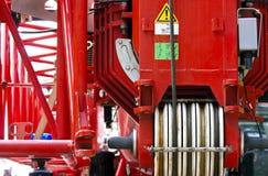 Fire truck ladder Stock Photography