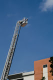 Fire truck ladder Royalty Free Stock Image