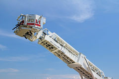 Fire truck ladder Stock Photos