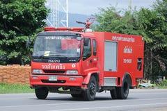 Fire truck of Nongjom Subdistrict Administrative Organization. Stock Image