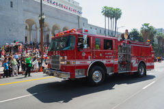 Fire Truck at the Norooz Festival and Persian Parade Stock Photos