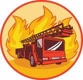 Fire Truck Or Engine Appliance Stock Photo
