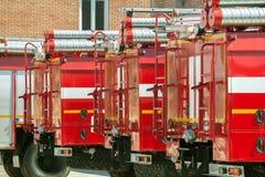 Fire trucks Stock Image