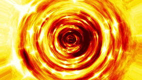 Fire tunnel seamless loop video stock footage