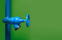 Fire valve,installation of fire safety,Security fire system in industry or the process stock photography