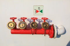 Fire valves Royalty Free Stock Photo