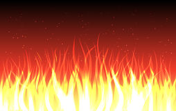 FIRE. Vector abstract fire background, eps10 file, blends and transparency used Royalty Free Stock Image