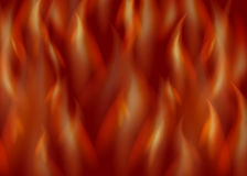 Fire vector background. Hot red flame illustration Stock Photo