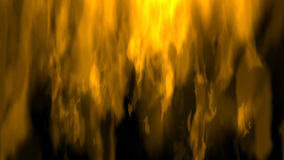 Fire Visualization. Digital Illustration of a Fire Royalty Free Stock Photo