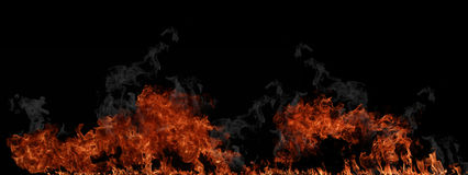 Fire wall Royalty Free Stock Photos