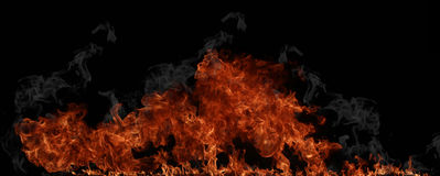 Fire wall Royalty Free Stock Image