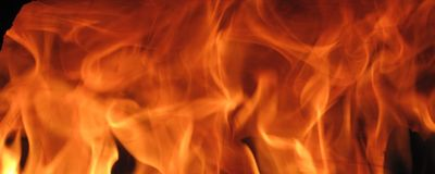 Fire Wall. Abstract fire wall background Royalty Free Stock Photography