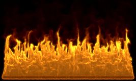Fire wall Stock Images