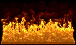 Fire wall Stock Image