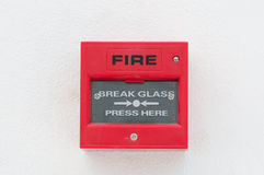Fire warn box Stock Photo