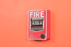 Fire warn box Stock Photos