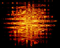Fire Water Metal. Abstract Texture Stock Photos