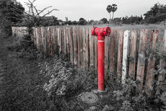 Fire-water pipe Stock Images