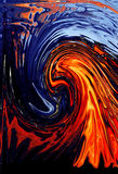Fire Wave. Wave of fire Stock Photos