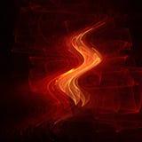fire wave royaltyfri illustrationer