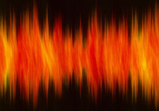 Fire wave form background. S texture Royalty Free Stock Images