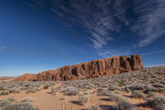 Fire wave, Valley of fire Stock Photo