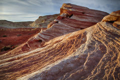 The Fire Wave at the Valley of Fire State Park Stock Photography
