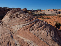 Fire Wave, Valley of Fire State Park Stock Photo