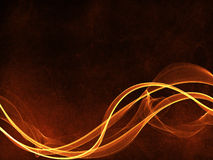 Fire weave curl background Stock Photography