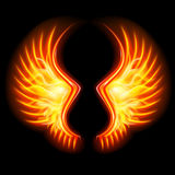 Fire Wings Royalty Free Stock Photo