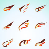Fire Wings Stock Image