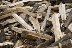 Fire Wood Royalty Free Stock Photography