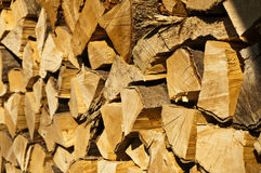 Fire-wood Stock Image