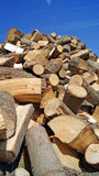 Fire wood. Stack to be used in the fireplace Stock Images