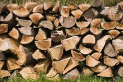 Fire wood Stock Images